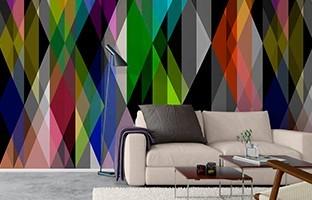 Geometric & Motif Wallpapers