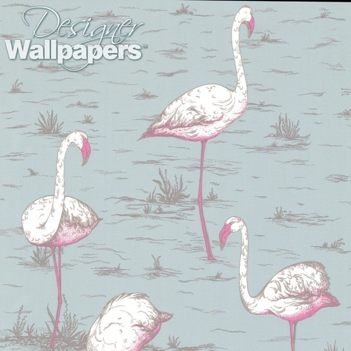 Buy Cole And Son Flamingos Free Next Day Delivery Designer