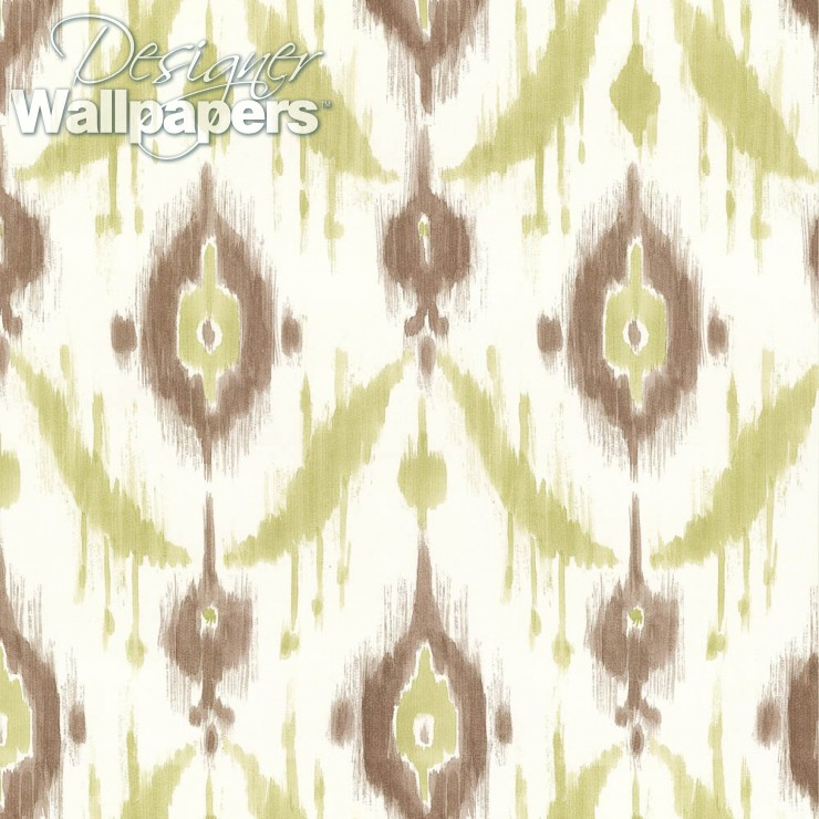Thibaut Wallpapers Island Ikat