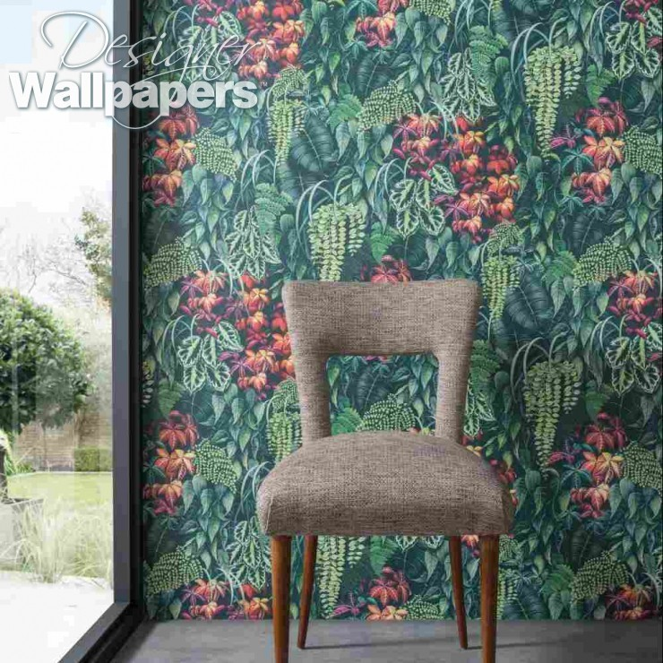 Osborne & Little Green Wall - Next Day Delivery