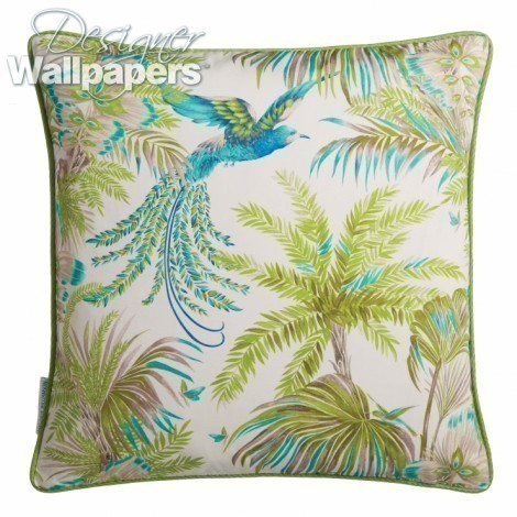 Samana Bird Of Paradise Cushion