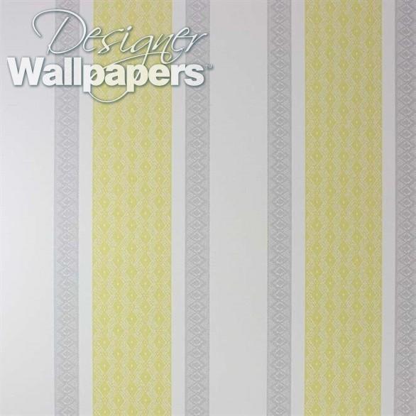 Osborne Little Chantilly Stripe Designer Wallpapers