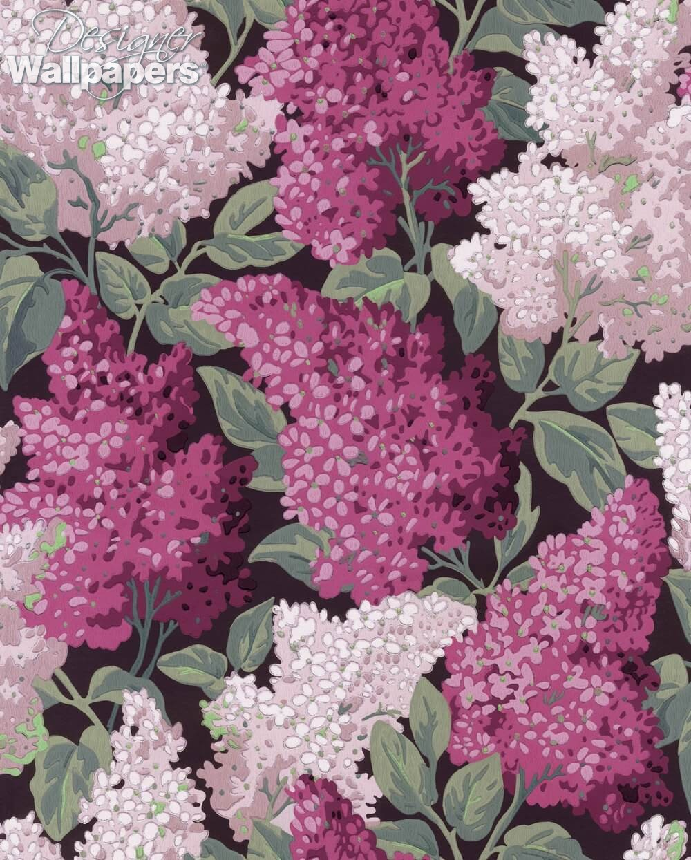 Buy Cole And Son Lilac Grandiflora Free Next Day