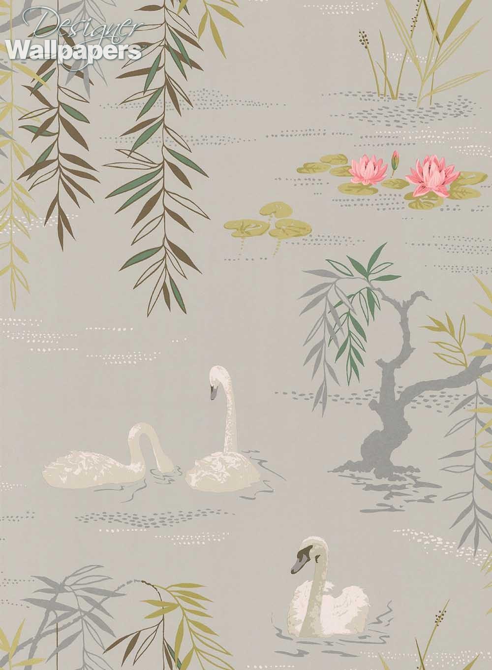 Nina Campbell Swan Lake - Next Day Delivery | Designer ...