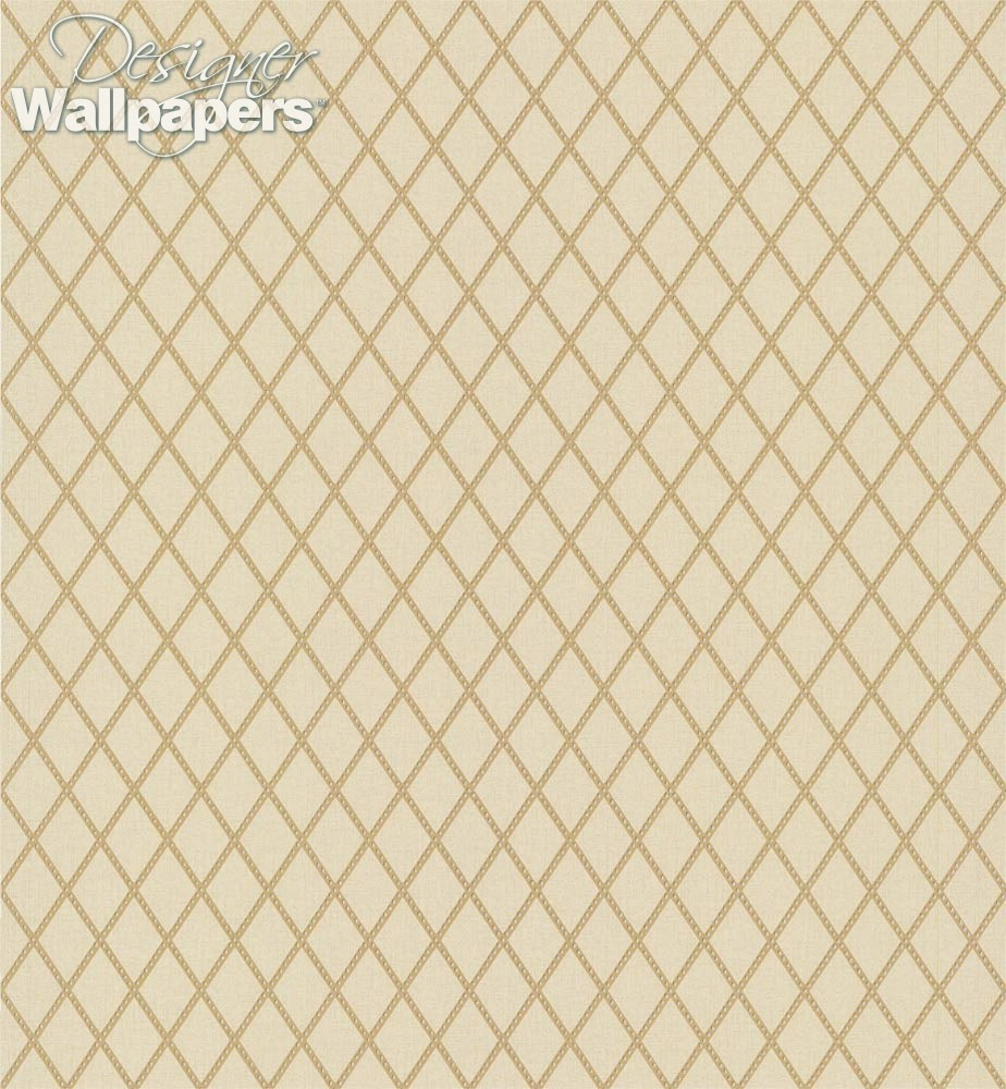 Neutral Trellis Wallpaper: Thibaut Wallpapers Hartmann Trellis