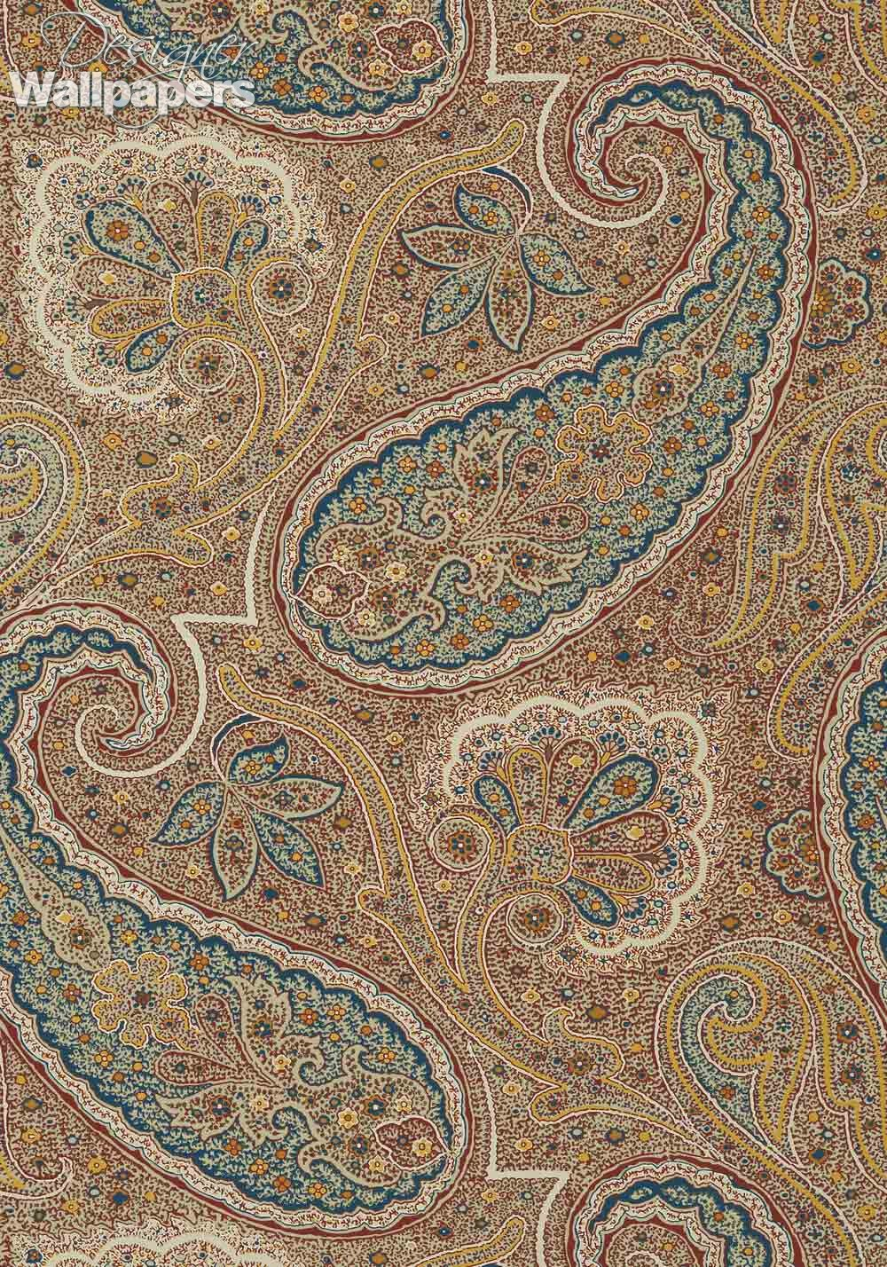 Thibaut Wallpapers Sherrill Paisley Next Day Delivery