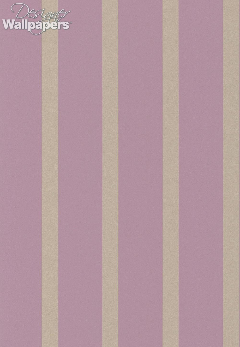 Osborne little du barry stripe next day delivery for Designer wallpaper brands