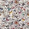 Butterfly Garden Fabric - Multi colour