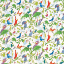 Cockatoos Fabric - Multi colour