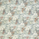 Water Lily Fabric - Multi colour