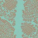 Providencia - Aqua & Blue Wallpaper