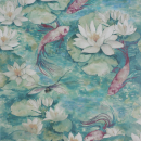 Water Lily - Green Wallpaper