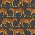 Cole and Son Leopard Walk 109/2008 Orange