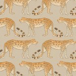 Cole and Son Leopard Walk 109/2010 Peach