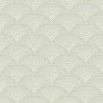 Feather Fan - Green Wallpaper