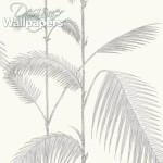 Palm - Grey Wallpaper