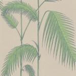 Palm Leaves - Brown & Beige Wallpaper