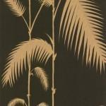 Palm Leaves - Black Wallpaper