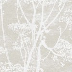Cow Parsley Linen - Silver