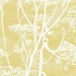 Cow Parsley Linen - Yellow