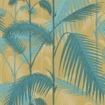 Palm Jungle Fabrics - Yellow