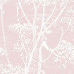 Cow Parsley Linen - Pink
