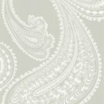 Cole and Son Rajapur 66/5036 Off white and pale grey.