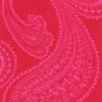 Cole and Son Rajapur 66/5041 Cerise on red.
