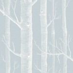 Cole and Son Woods 103/5022 Blue & white