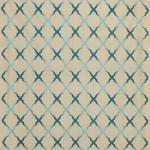 Jali Trellis Fabric - Gold