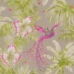 Bird of Paradise - Pink & Purple Wallpaper