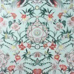 Menagerie - Green Wallpaper