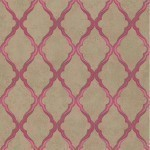 Jali Trellis - Gold Wallpaper