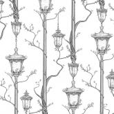 Alexander Meli Street Light Designer Wallpaper