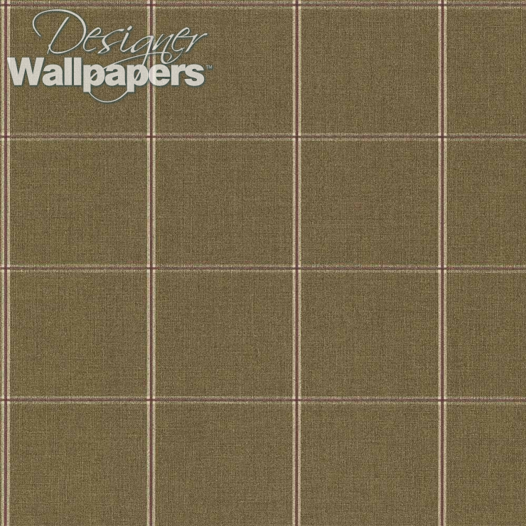 Thibaut Wallpapers Henley Plaid - Free shipping | Designer Wallpapers ™