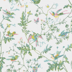 Hummingbirds - Multi Colour Wallpaper