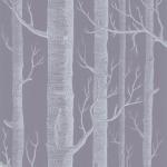 Woods - Grey Wallpaper